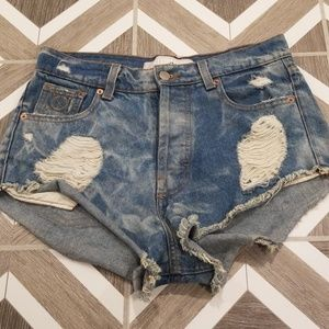 Laundry Room California Denim Jean Shorts Size 27